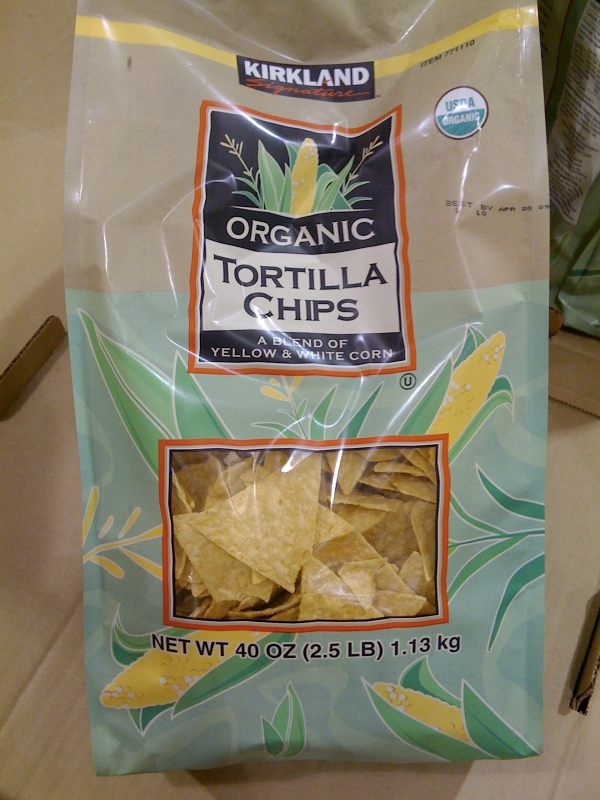 costco organic chips