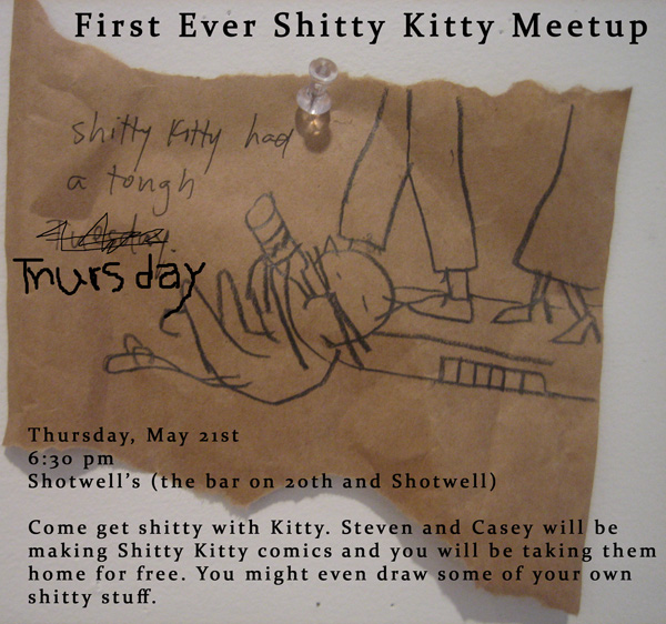 shitty kitty meetup