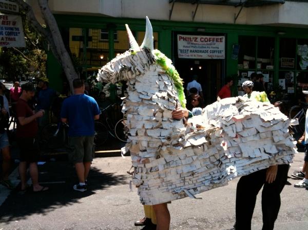 sunday streets horse