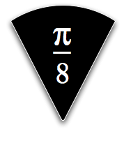 pi bar slice black