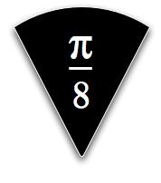 pi bar slice black