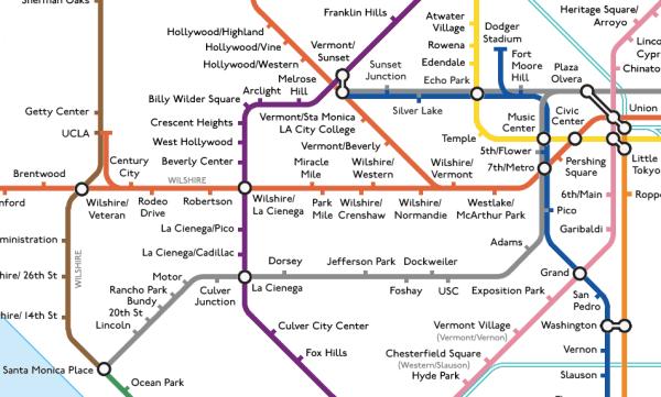 LA dream subway clip