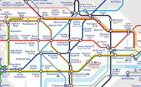 london tube figurative