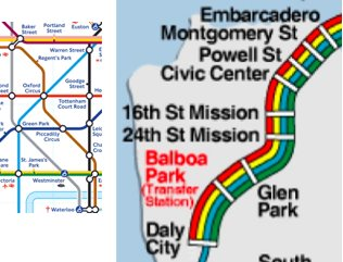 waterloo 24th transit maps side by side