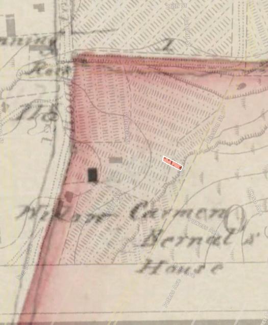 1859 US coast survey, 1857 bernal plat