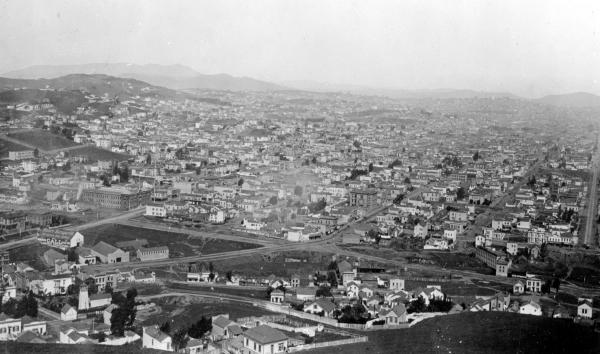 1888 Mission from Bernal
