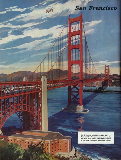 Golden Gate Bridge BART