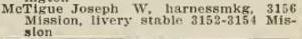 1907 McTigue harness