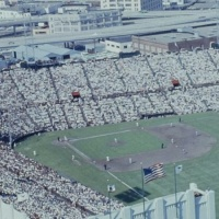 1959 Giants Opening Day In Color
