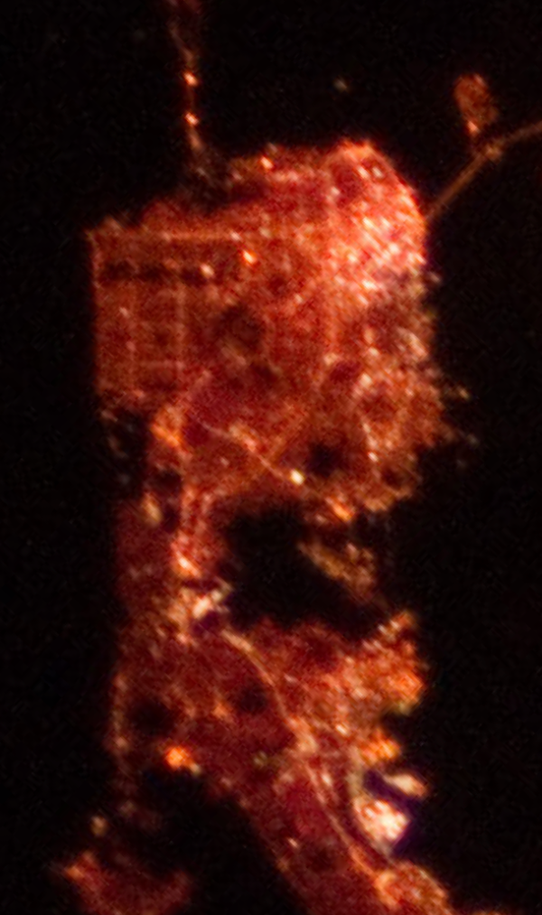 SF IR ISS city