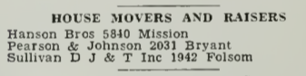 1933 house movers