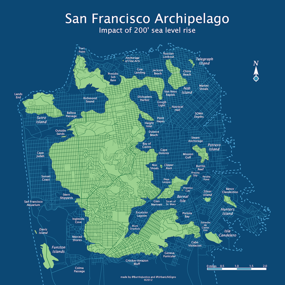 San Francisco Topography