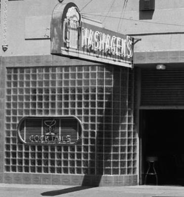 1956 Hashagans sign