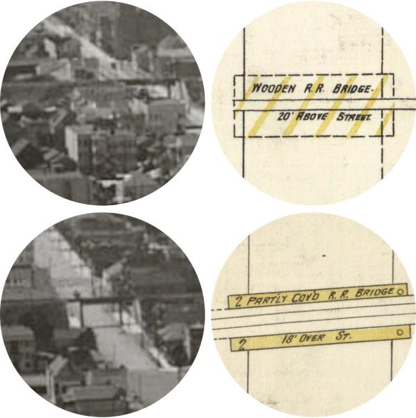 SPRR rail trestles