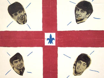 beatles canada flag