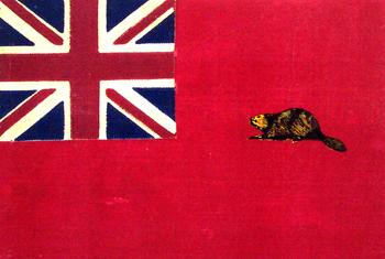 beaver flag union jack