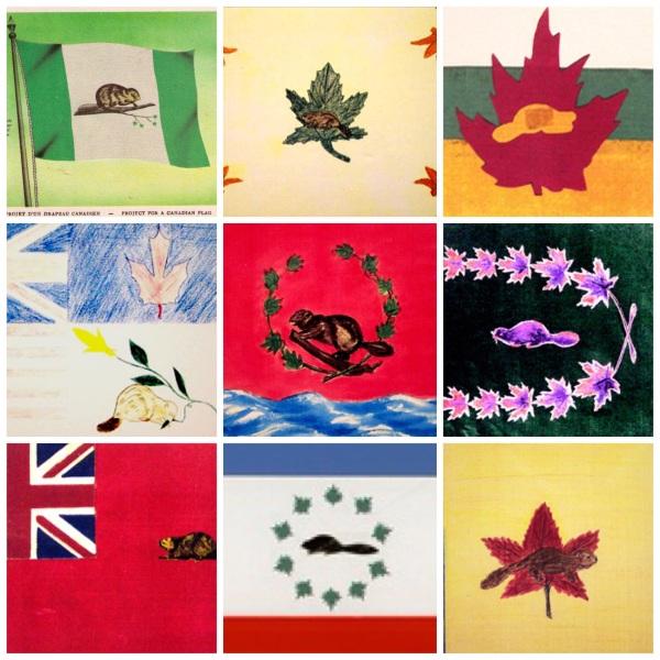 canada beaver flags