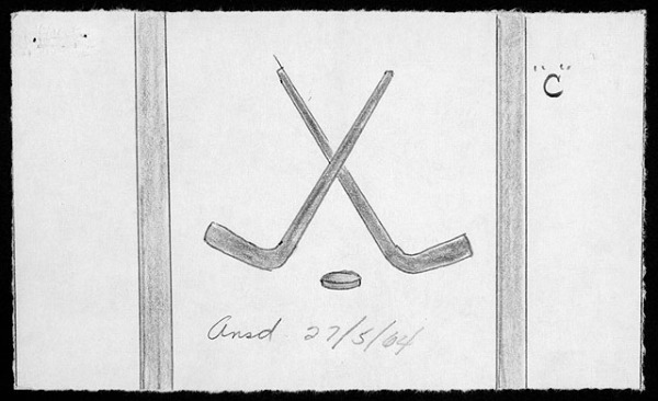 hockey flag 1964