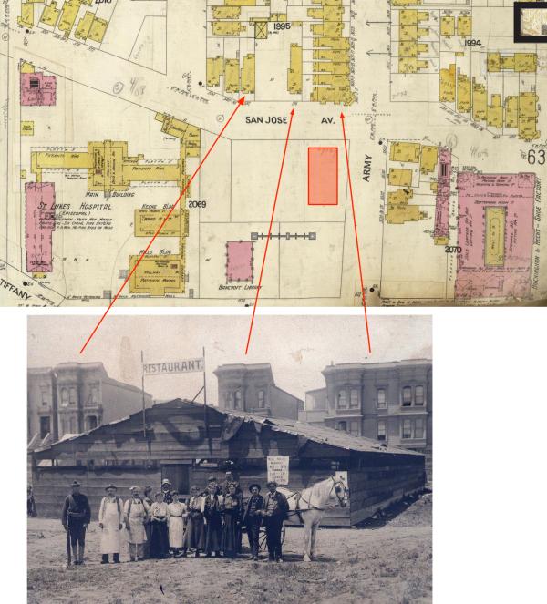 1905 la lengua red cross restaurant