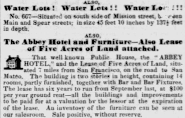 1854 Abbey Hotel