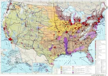 Soviets map America   Burrito Justice