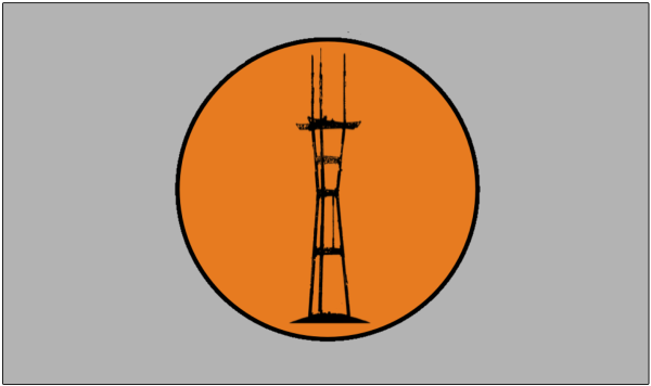 sutro sf fog flag