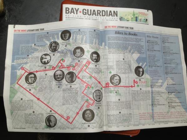 bikes to books bay guardian