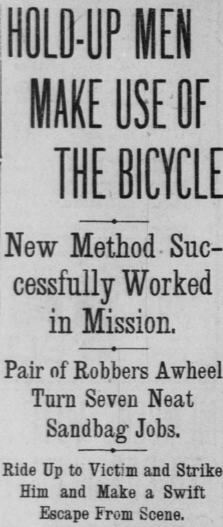 1905 bicycle thieves headlines