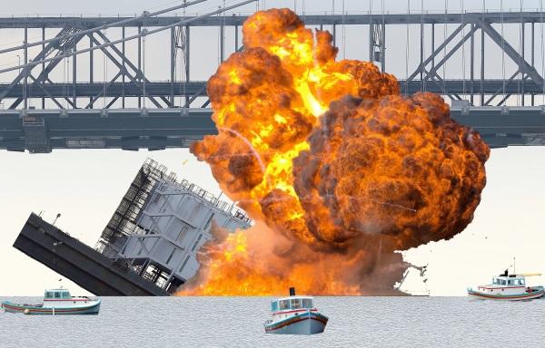 google barge sinking