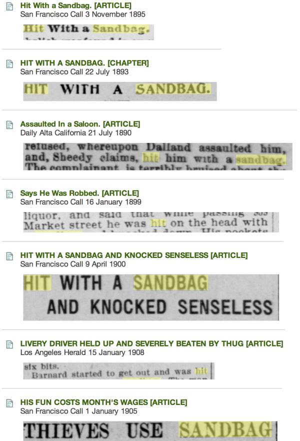 sandbaggery