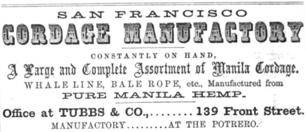 1859 tubbs cord walk ad