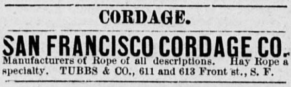 1878 tubbs cord walk ad