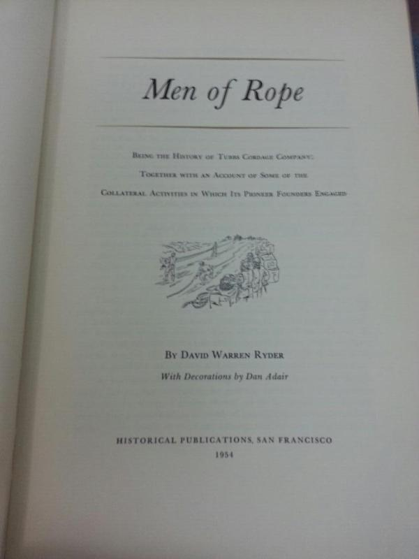 men of rope