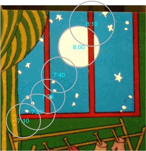 goodnight moonrise background