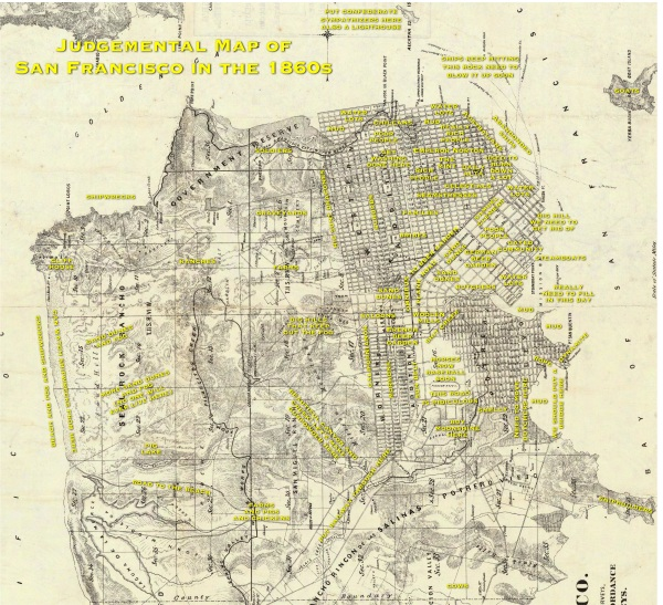 1861 SF judgemental map yellow text