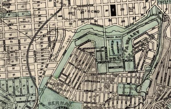 1869 SF Goddard map Bernal