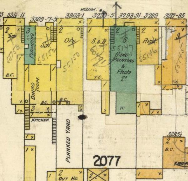 1905 sanborn 3299 mission