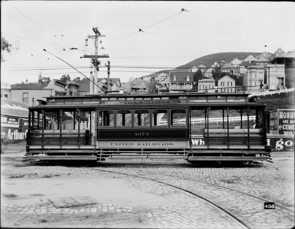 Foster Case Streetcar 1074