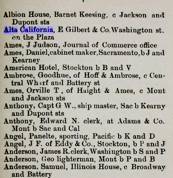 1850 sf directory alta