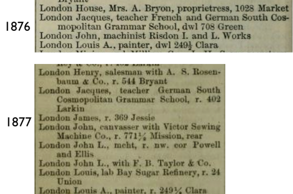 1876 1877 John London
